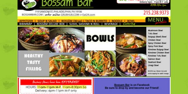 Bossam Bar, Philadelphia, PA