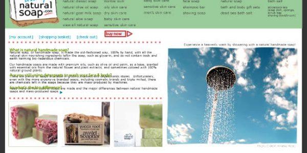 Online Natural Soap Shop