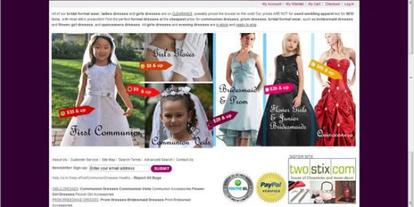 Online Dress Shop