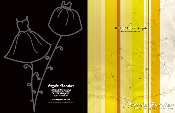 Angels Garden Catalog 1, Front and Back Covers