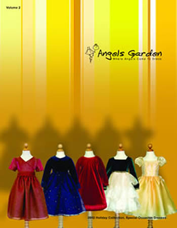 Angels Garden Holiday Catalog Cover